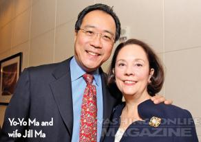 Yo Yo Ma in Washington Life Magazine