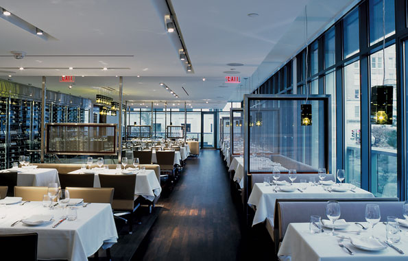 """Sourcing a table reservation at Wolfgang Puck's """"The Source"""" should be done a week in advance. Other popular tables can take over a month to book."""