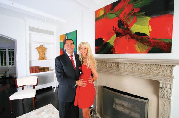 Real estate developer Don Peebles and his wife Katrina.