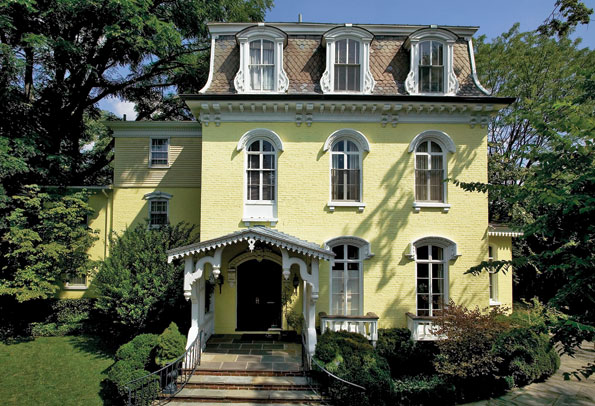 Mellon's house and Grand dame Oatsie Charle's Georgetown mansion have both been sold to new owners for the second time in recent years.