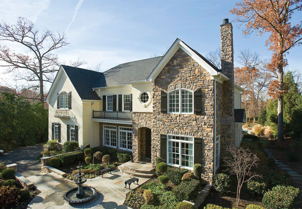 The five-bedroom Colonial at 1112 Ingleside Avenue in McLean changed hands recently for 2.38 million.