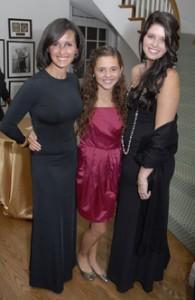 Alina, Francesca, and Katherine Shriver