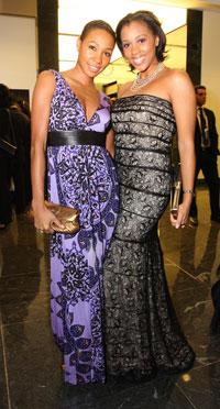 Teri Johnson and Nicole McDade