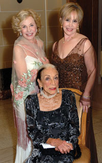 Dr. Doree Lynn, Lolo Sarnoff, and Julia Hopping