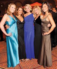 Heather Guay, Kim Luk, Wendy Adeler-Hall, Jessica Gibson and Pamela Sorenson