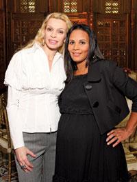 Rima Al-Sabah and Michelle Fenty