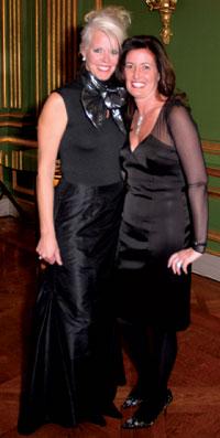 Susan Harreld and Diane Brown