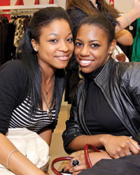 Samantha Walker and Brianna Wise