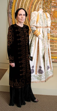 Fashion Designer Mary McFadden