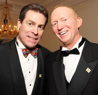 Capital City Ball founders John Dunford and Bruce Fries
