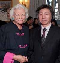 Justice Sandra Day O'Connor and Fan Dian