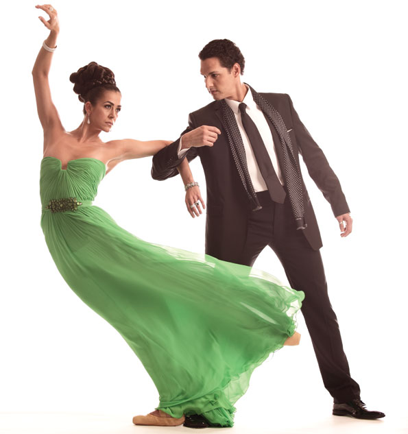 Married to fellow dancer Jonathan Jordan, Sona Kharatian is in her ninth season with the Washington Ballet and notes Giselle as her favorite role. Dancer Luis R. Torres has been with the company for six seasons. You can find him in Georgetown when he's not center stage.
