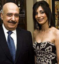 Prince Fahad Al-Saud and Bayanne Surdashi
