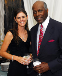 Mae Haney Grennan and Vernon Jordan