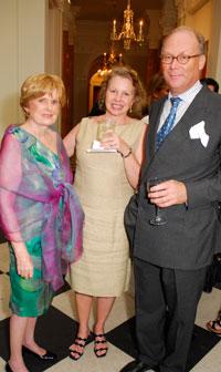 Pamela Peabody, Sylvia Ripley, and Henry von Eichel