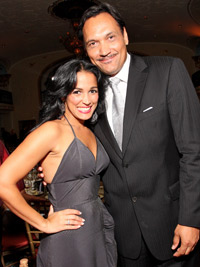 Celines Toribio and Jimmy Smits