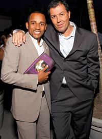 Hill Harper and Julian Epstein