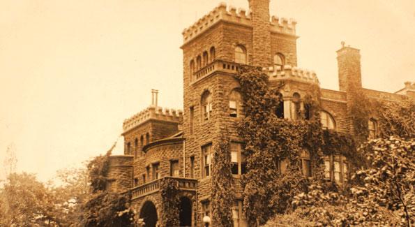 Henderson's Castle during Washington's golden age.
