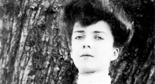 Alice Roosevelt Longworth as a young woman. She was known for her striking beauty throughout her life.