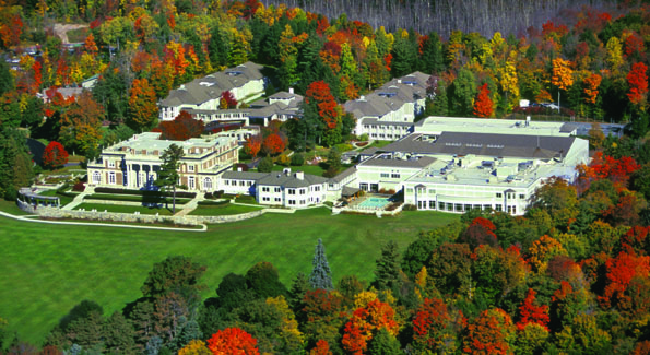 Canyon Ranch's Bellefontaine Mansion, where you'll dine, attend workshops and meet with health experts