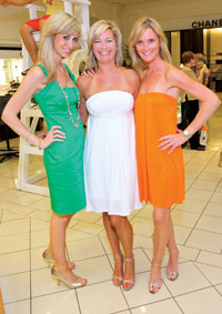 Jaclyn Gower, Amber Adams, and Priscilla Cooney