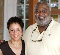 Sheila Johnson and Bill Newman