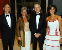 Justice Samuel Alito and Martha Alito with Italian Ambassador Giovanni Castellaneta and Leila Castellaneta