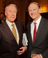 JIm Kimsey with War of Necessity author Richard Haass