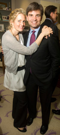 Hosts Ali Wentworth and George Stephanopoulos