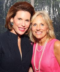 Nancy Brinker and Jill Biden