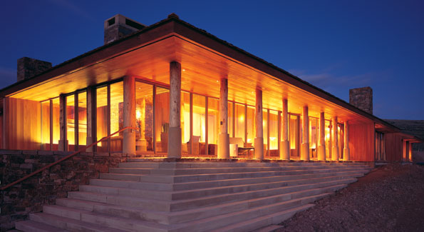 The Quintess Amagani in Jackson Hole, Wyoming is the first destination in th United States to feature an Aman Resort