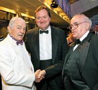 Al Neuharth, Tim Russert, and Robert Novak