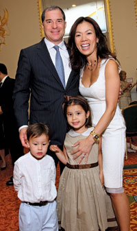 Jim, Mai, Sophie, and Griffin Abdo