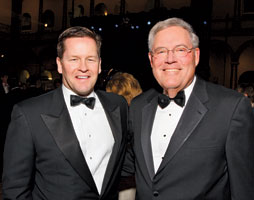 Co-Chair Paul Dougherty and Children's President Ed Zechman