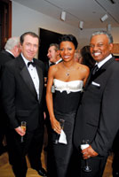 Brian Dailey with Shela and Art Collins