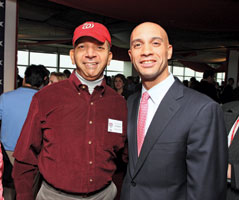 Anthony Williams and Adrian Fenty