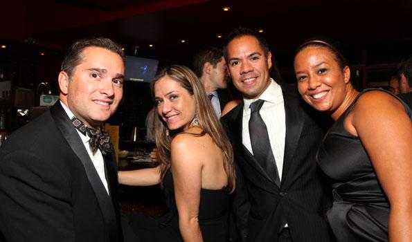 Joaquin Bacardi, Christine Moll, Daniel Martinez, Enjoli Duval, Photo by Tony Powell