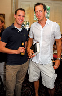 Brett Broesder and Kip Patrick