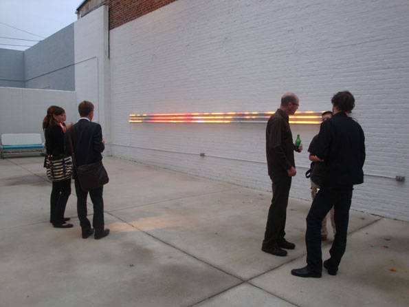 Opening night reception of 'Conversations in Lyrical Abstraction: 1958 to 2009' at Conner Contemporary Art