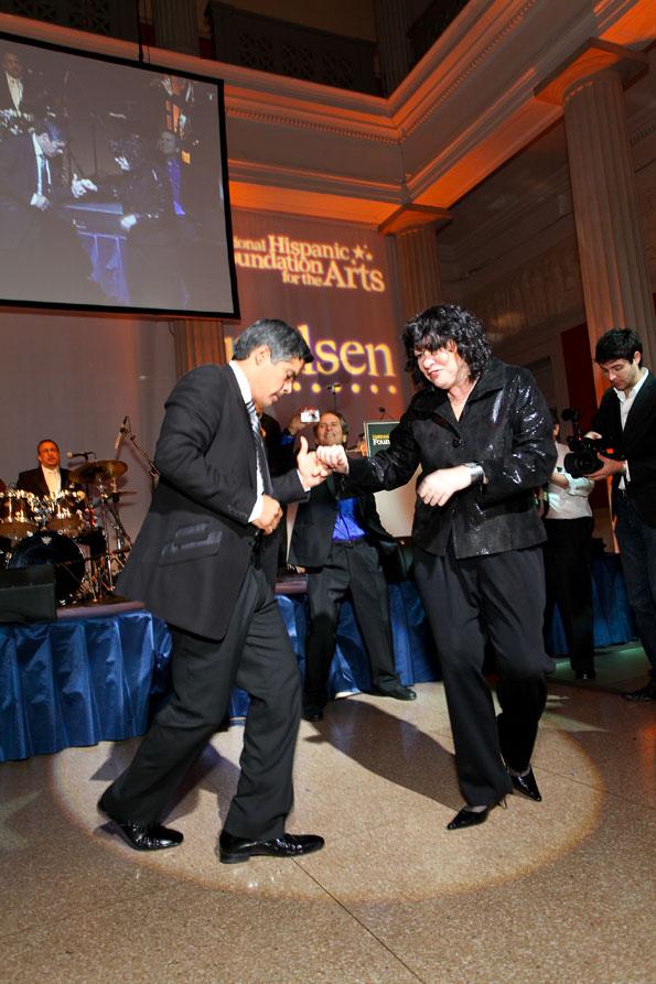 Justice Sonio Sotomayor and Esai Morales