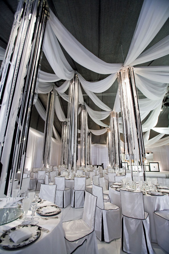 """A """"magical atmosphere"""" in the main tent. (Photo by Clay Blackmore)"""