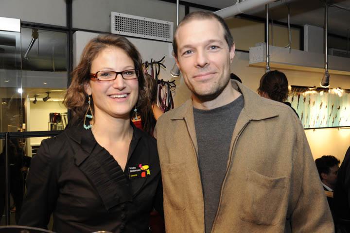 Brooke Seidelmann (curator); Scott Huchison (artist)
