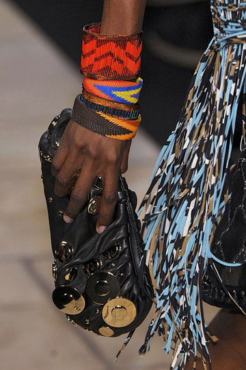 A stylish handbag created in Kenya by a Vital Voices worker. (Photo Courtesy of Vital Voices)