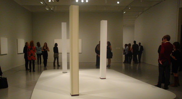 Anne Truitt 'Perception and Reflection' at Hirshhorn After Hours. Photograph by Alannah Wells