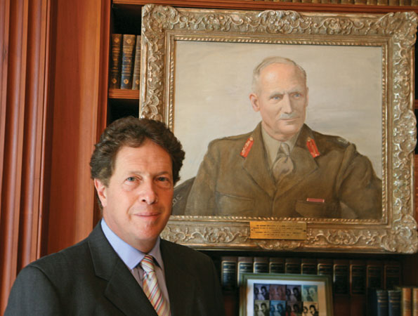 Sir Nigel  Sheinwald in the British Embassay Library