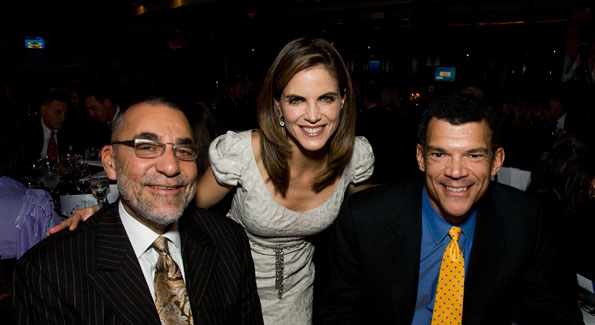 Michael Jack, Natalie Morales, Mark Whittaker at the ThanksUSA Gala. Photograph by Betsy Spruill Clarke
