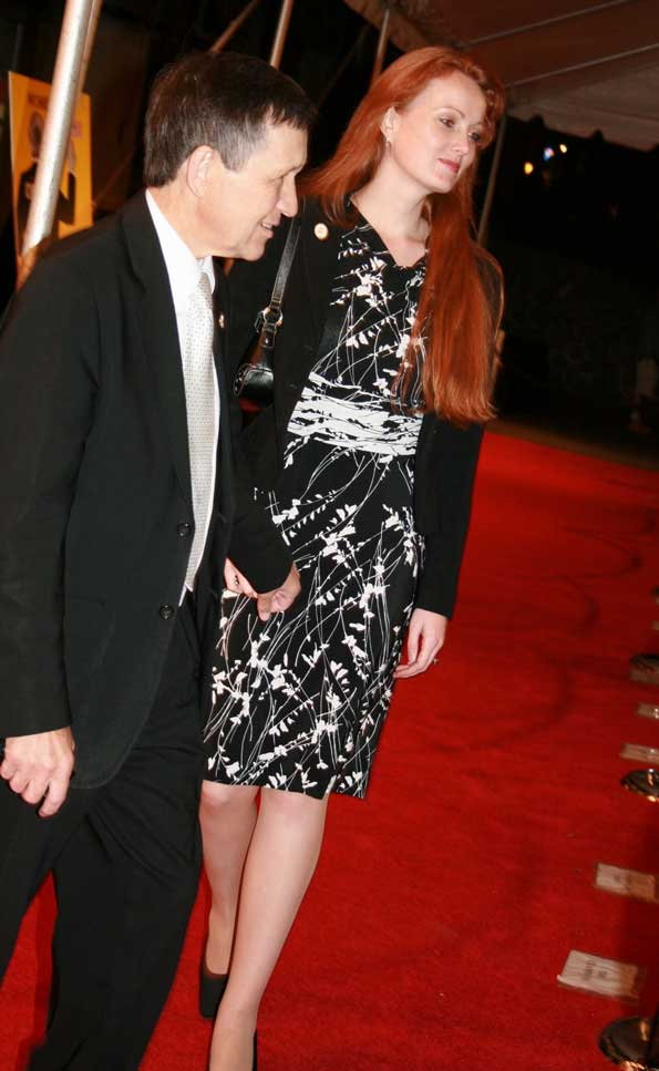 Rep. Dennis Kucinich and wife Elizabeth arrive at the film's Washington premiere. (Photos by Janet Donovan)