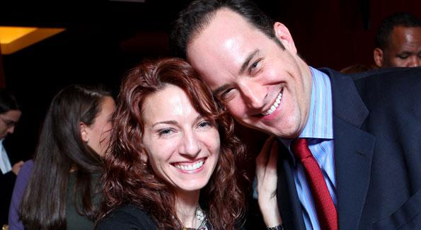 Jody Arlington and David Vennett. (Photo by Tony Powell courtesy of IMPACT ARTS and FILM FUND)