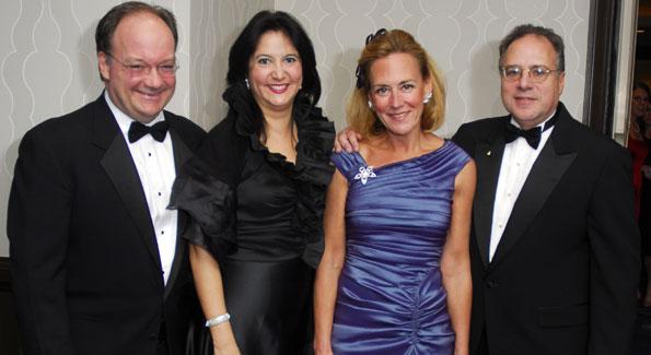 Jack DeGioia, Theresa DeGioia, Tanya Adler, Howard Adler