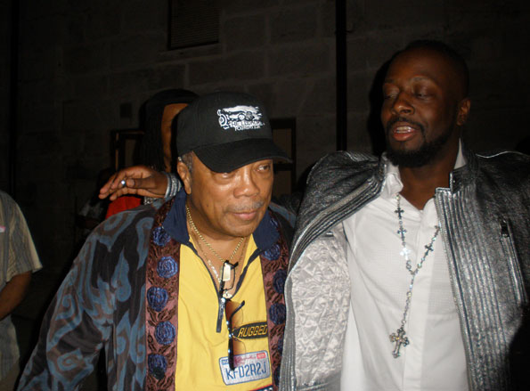 Quincy-Jones &-Wyclef-